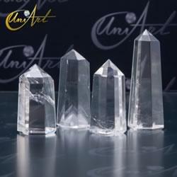 cuarzo transparente punta cristal roca