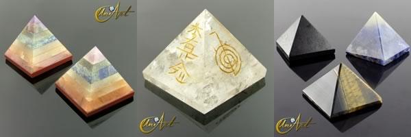 piramides amuletos
