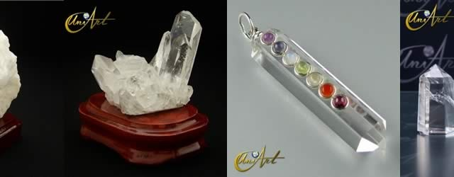 Cristal de Cuarzo Blanco o Roca