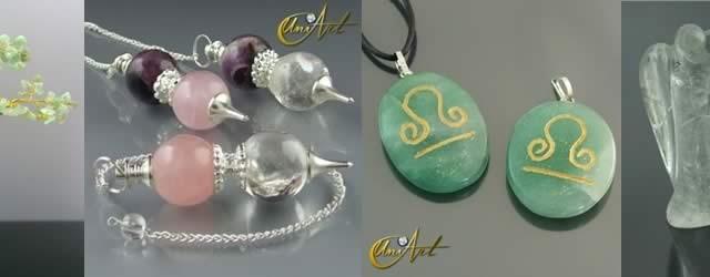 Cristal Ahumado, Cuarzo Rosa y Cuarzo Verde