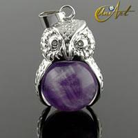 El simbolismo místico del búho como amuleto de la suerte
